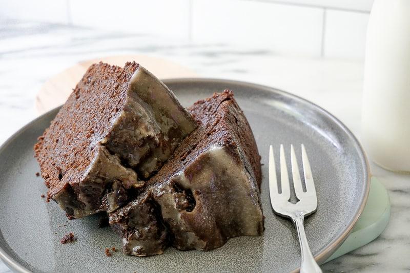 Cannabis Chocolate Pudding Cake - Cannabis Spatula (1)